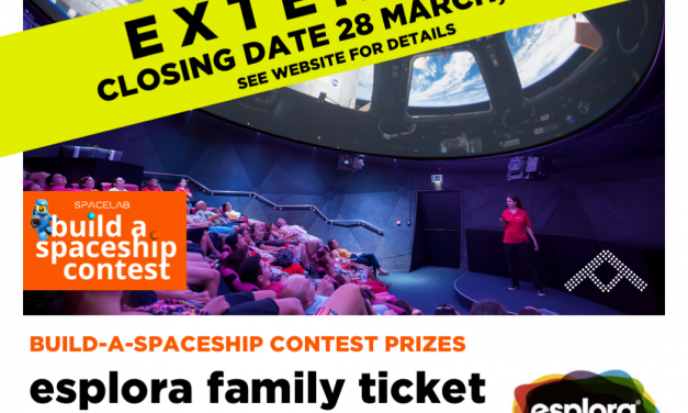 ESPLORA FAMILY TICKETS FOR CONTEST WINNERS