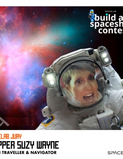 Spacelab BAS Suzy Wayne