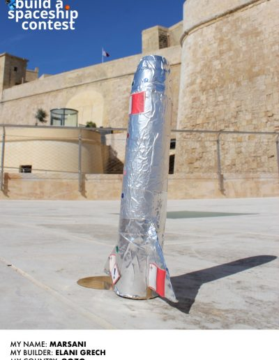 Gozo Spacelab Marsani Poster