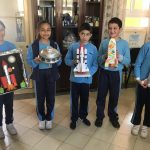 Crafty Kercem Kids engineer amazing Spacecraft by Upcycling Waste