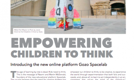 Spacelab in Child Magazine