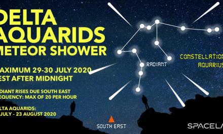 Meteor Shower: Delta Aquarids